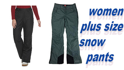 """""""Plus size snowboard pants for Womens"""""""