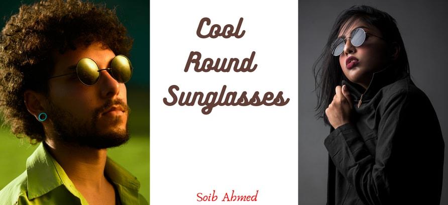 """Cool Round Sunglasses"""