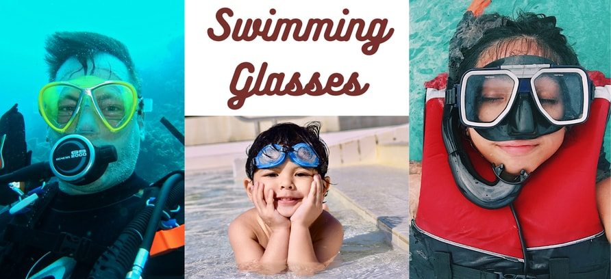 """Swimming glasses"""