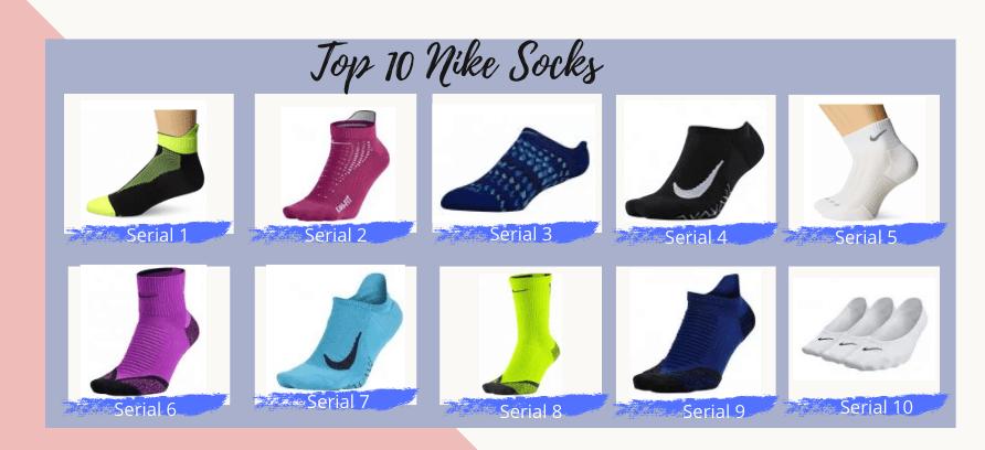 Top 10 Nike Socks