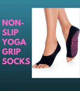 """""""Non-slip yoga grip socks for women"""""""