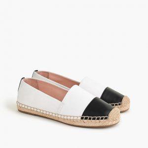 """""""Women's flat shoes: Espadrilles"""""""