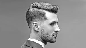 """""""Hard Part Fade Comb Over Uppercut Hairstyles"""""""