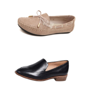 """""""Women's flat shoes: Loafers and Moccasins"""""""