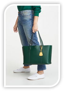 """Tory Burch Leather Tote"""