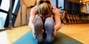 """""""non-slip yoga socks"""""""